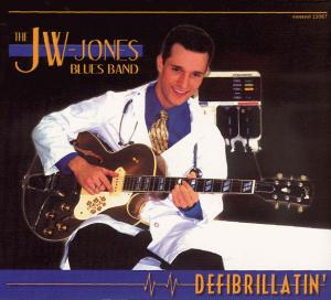 CCD 11067 JW-Jones Blues Band - Defibrillatin'