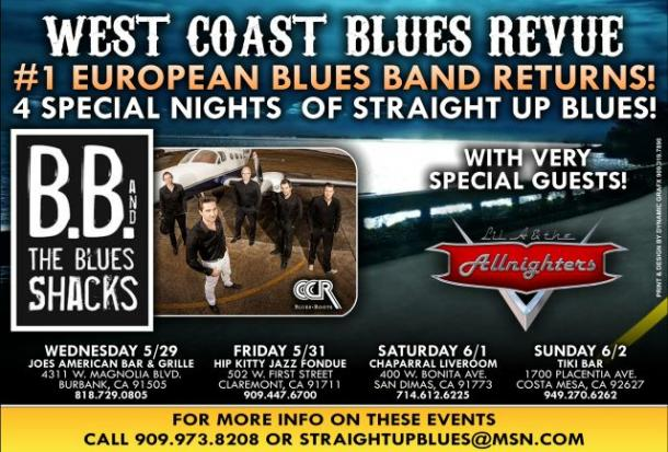 B.B. & The Blues Shacks West Coast Blues Revue