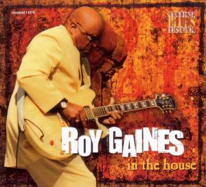 CCD 11074 Roy Gaines - In The House – Live At Lucerne Vol.4